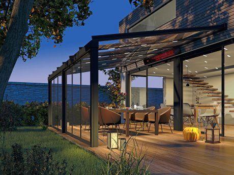 Perfekt abgestimmtes Ambiente-LED Licht und Wärmemodule
