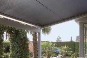 Bei Sonne und Regen geschützt, aber immer die optimale Lichtmenge verfügbar