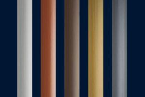 Die optionalen, hochwertigen Dekorleisten in 5 Farbvarianten verleihen Terrazza Pure eine edle Anmutung. Sie können an den Außenseiten des Pfosten, an der Unterseite der mittleren und an den äußeren Dachträgern integriert werden.