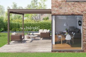 Abgestimmt auf die Anforderungen moderner Architektur, ist Terrazza Pure mit seiner klaren kubischen Form die optisch perfekte Lösung für die Terrasse.