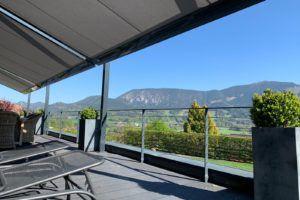 Terrassenüberdachung Q.bus, gekoppelt - drei Anlagen